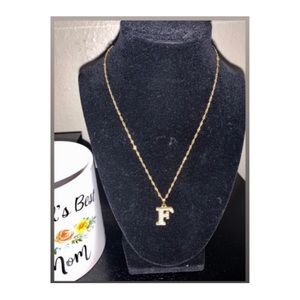 Jewelry - ✨Gold Initial Letter Necklace✨